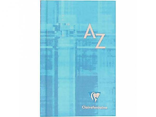 Adressregister Clairefontaine A4 A-Z, 5mm kariert