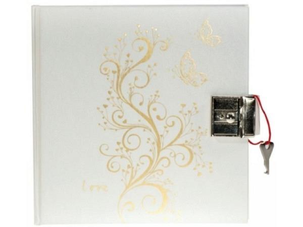 Tagebuch Artoz Tree of Love chamois Buch 16x16cm mit Schloss