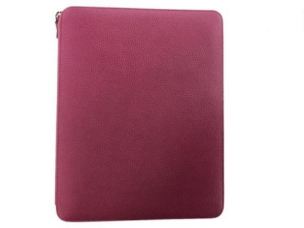 Blockmappe Filofax Finsbury A4 Folio Zipped Raspberry himbeerrot