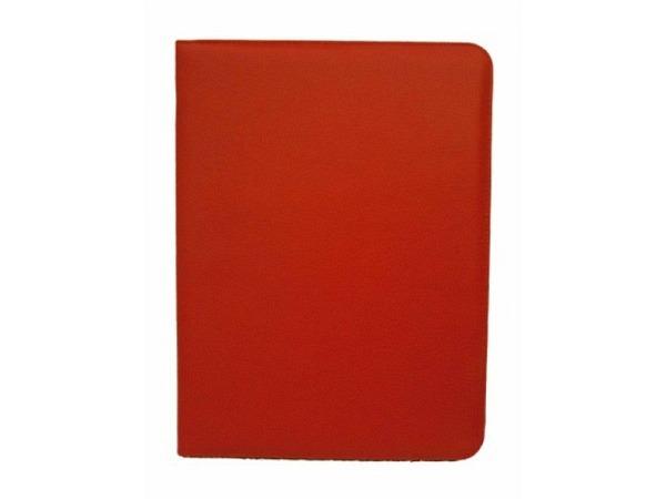 Blockmappe ASL Matrix Kunstleder rot, mit einem A4-Block auf der rechten Seite, 2 Stiftschlaufen und