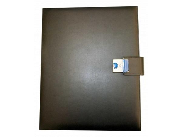 Dokumentenmappe ASL Matrix Kunstleder glatt A4 schwarz