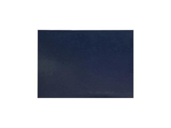 Schreibunterlage ASL Bergamo Lederfaser blau, 45x32cm