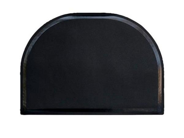 Schreibunterlage Arlac Rondo schwarz, halbrund