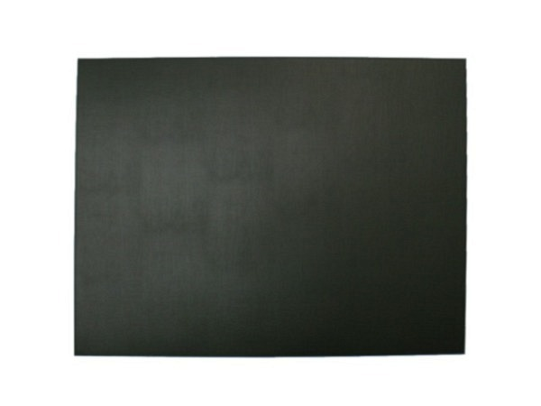 Schreibunterlage ASL Bergamo Lederfaser schwarz 48x64cm