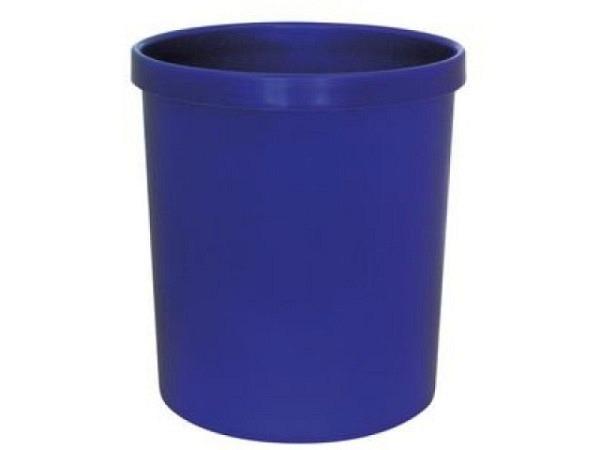 Papierkorb Büroline 18l Kunststoff 265x310mm blau