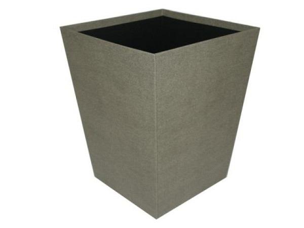 Papierkorb Bigso Box Leinenbezug Sofia anthrazit