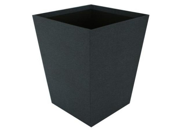 Papierkorb Bigso Box Leinenbezug Sofia dunkelblau