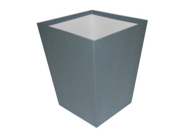 Papierkorb Bigso Box Papierbezug Sofia blau