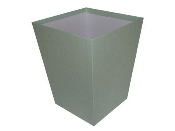 Papierkorb Bigso Box Papierbezug Sofia mintgrün