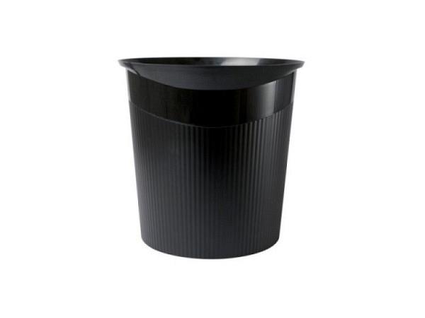 Papierkorb Han Loop schwarz D:29cm aus Polypropylen