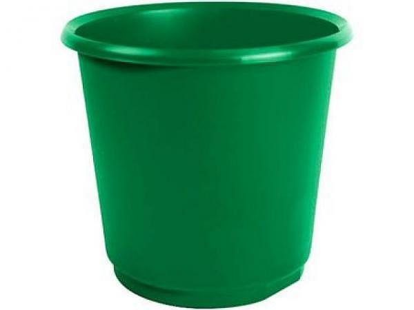 Papierkorb Büroline 18l Kunststoff 265x310mm basic-grün