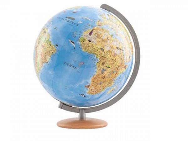 Globus Columbus Kinderglobus mit Entdeckerstift