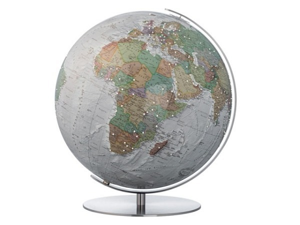 Globus Columbus Duo Alba Swarovski Durchmesser 40cm