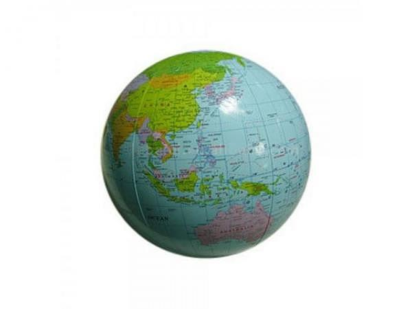 Globus aufblasbar politische Karte