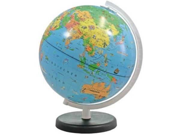 Globus Columbus Terra Kinderglobus D:26cm blau