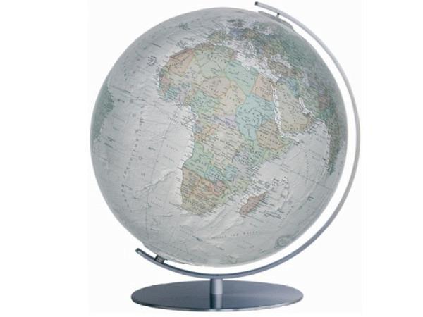 Globus Columbus Duo Alba 34cm matter Edelstahl
