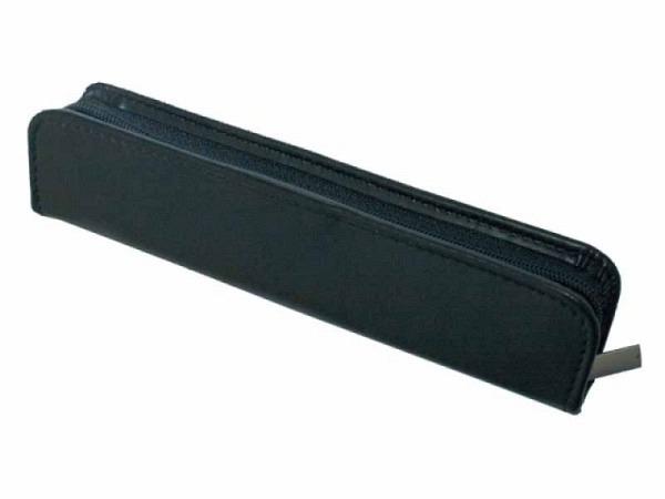 Stiftetui ASL Cardiff Leder glatt schwarz für 1 Stift
