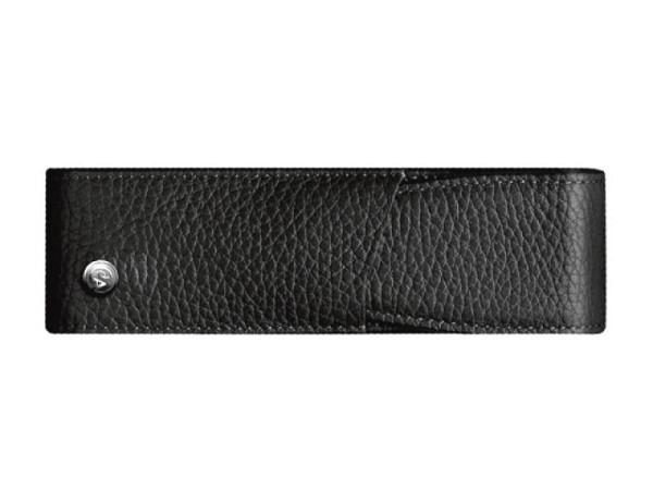 Stiftetui Graf von Faber-Castell Epsom schwarz Magnetknopf