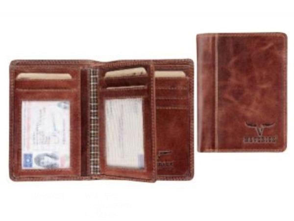 Portemonnaie Brepols Maverick Dalian Mark 2 braun