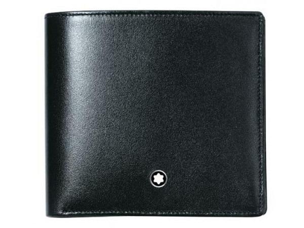 Portemonnaie Montblanc Meisterstück 4cc schwarz 10,5x9,5cm