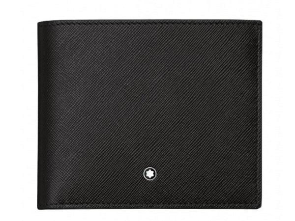 Portemonnaie Montblanc Sartorial schwarz 9.5x11cm quer
