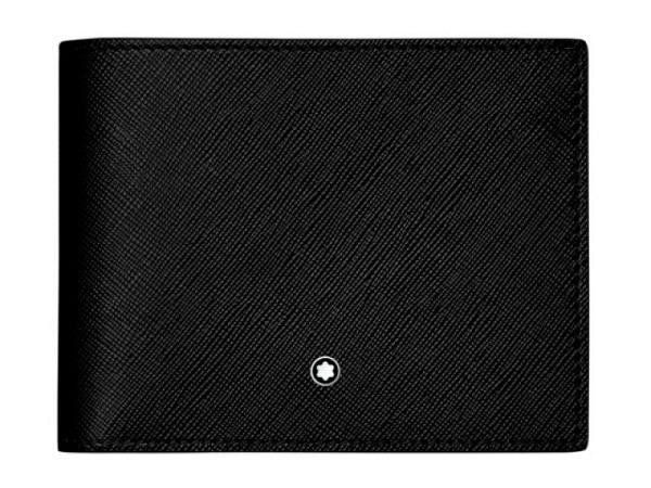 Portemonnaie Montblanc Sartorial 12cc schwarz 9x11,5cm quer