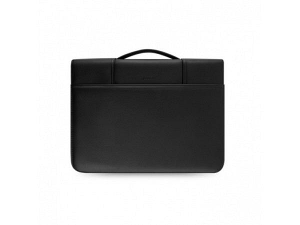 Tasche Filofax Metropol schwarz, Kunststoff mit Lederlook