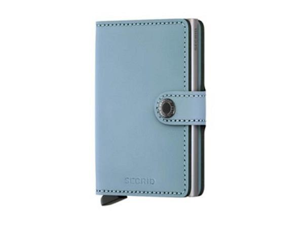 Kreditkartenetui Secrid Miniwallet matte blue