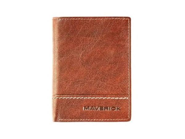Portemonnaie Wild&Wolf Brave Wallet schwarz, 8,5x11cm