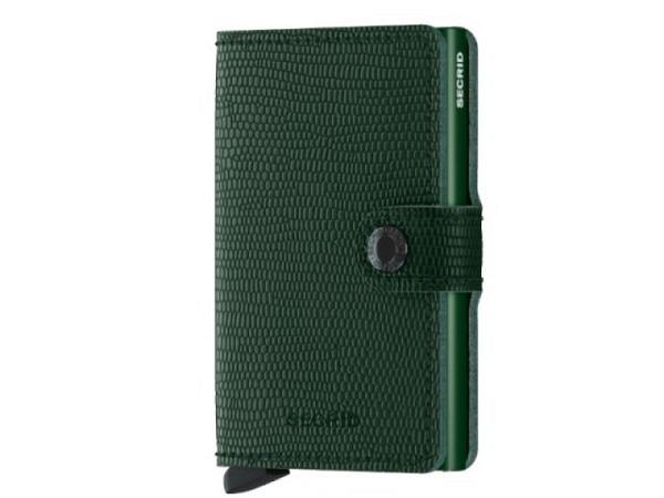 Kreditkartenetui Secrid Miniwallet Rango grün-gold