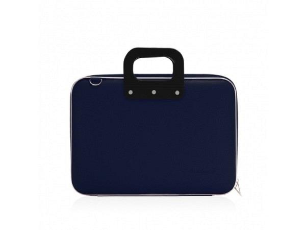 """Tasche Bombata Classic navyblau Laptoptasche big für 17"""""""
