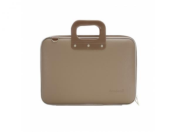 "Tasche Bombata Classic Taupe Laptoptasche classic für 15"""