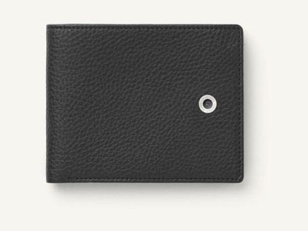 Kreditkartenetui Graf von Faber-Castell Cashmere schwarz