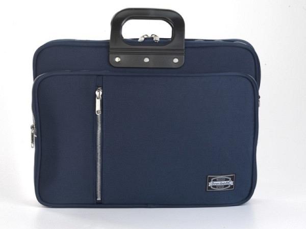 Tasche Bombata Gabardina Navy Laptoptasche für 15,6 Zoll