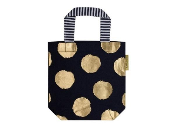 Tasche Artebene Lieblingstasche Minibag Dots Black 25x24cm