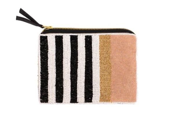Tasche Artebene Lieblingstasche Perlentasche Streifen 17x11,5cm
