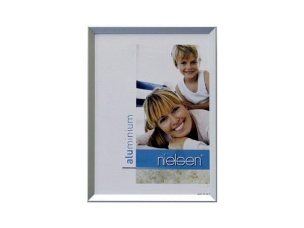 Rahmen Nielsen Pixel Aluminium 13x18cm silber matt