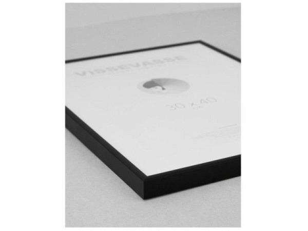 Rahmen Aluminium Frame 50x70 matt schwarz
