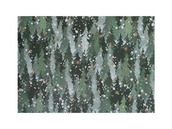 Geschenkpapier Artebene Holgramm schwarz 70cmx1,5m