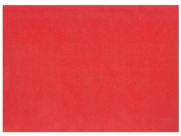 Geschenkpapier Kraftpack rot Natura