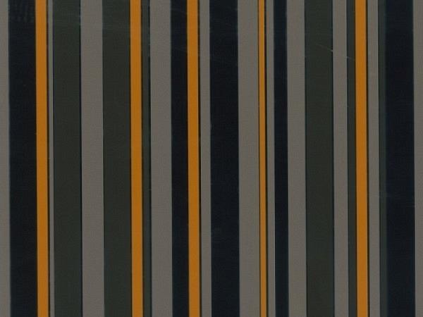 Geschenkpapier Rotolux metallic, outline stripe black/copper