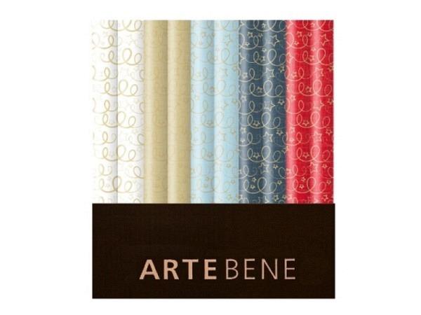 Geschenkpapier Artebene Holo-Finest Kringe 70x150cm