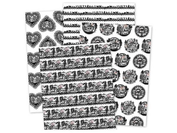 Geschenkpapier Coppenrath Blumenkinder 50x70cm
