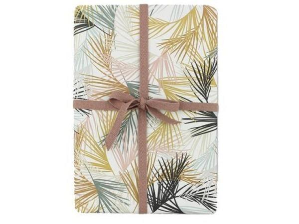 Geschenkpapier Ava&Yves Palmblätter 50x70cm