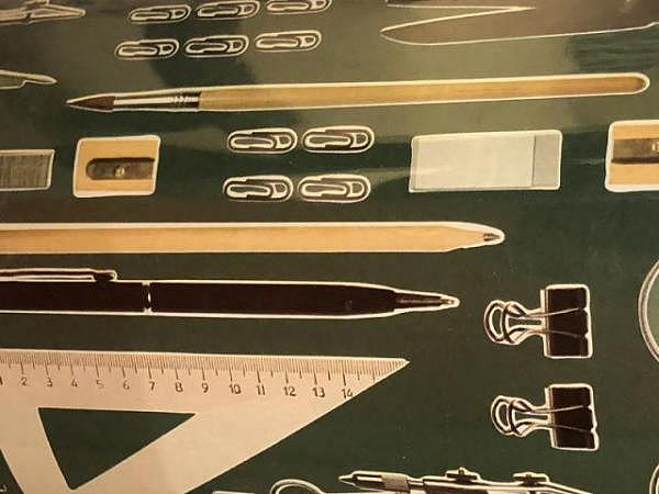 Geschenkpapier Caspari Zebra Gold Foil Bogen 70x100cm
