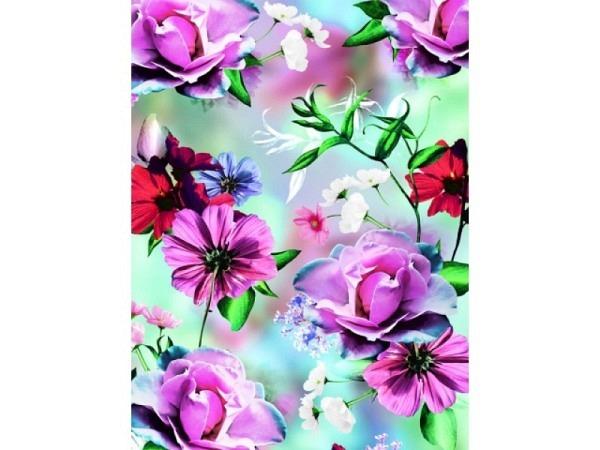 Geschenkpapier Stewo Fay Blumen 70cmx2m