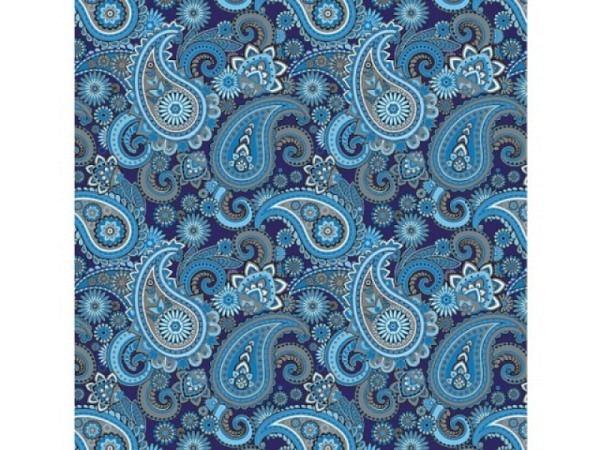 Geschenkpapier Rotolux Christmas Metallic Eiskristall