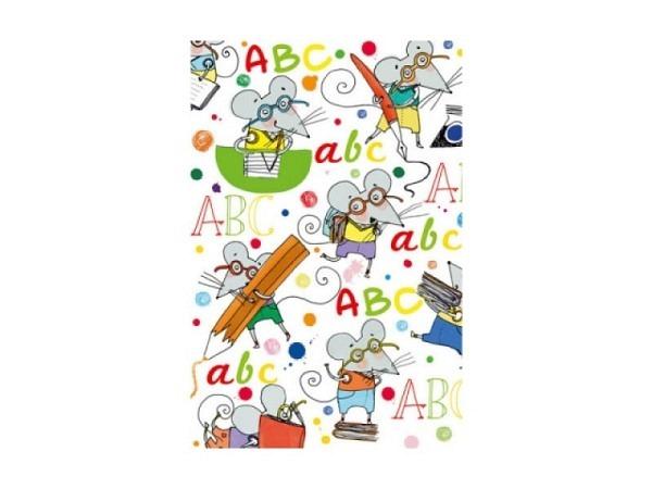 Geschenkpapier Stewo Anton Kindermotiv mit Maus