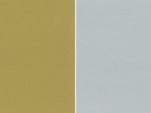 Geschenkpapier Rotolux unicolor coated, recto/verso gold/silver