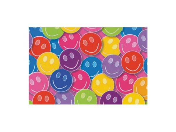 Geschenkpapier Rotolux Everyday Coated Smiling Faces